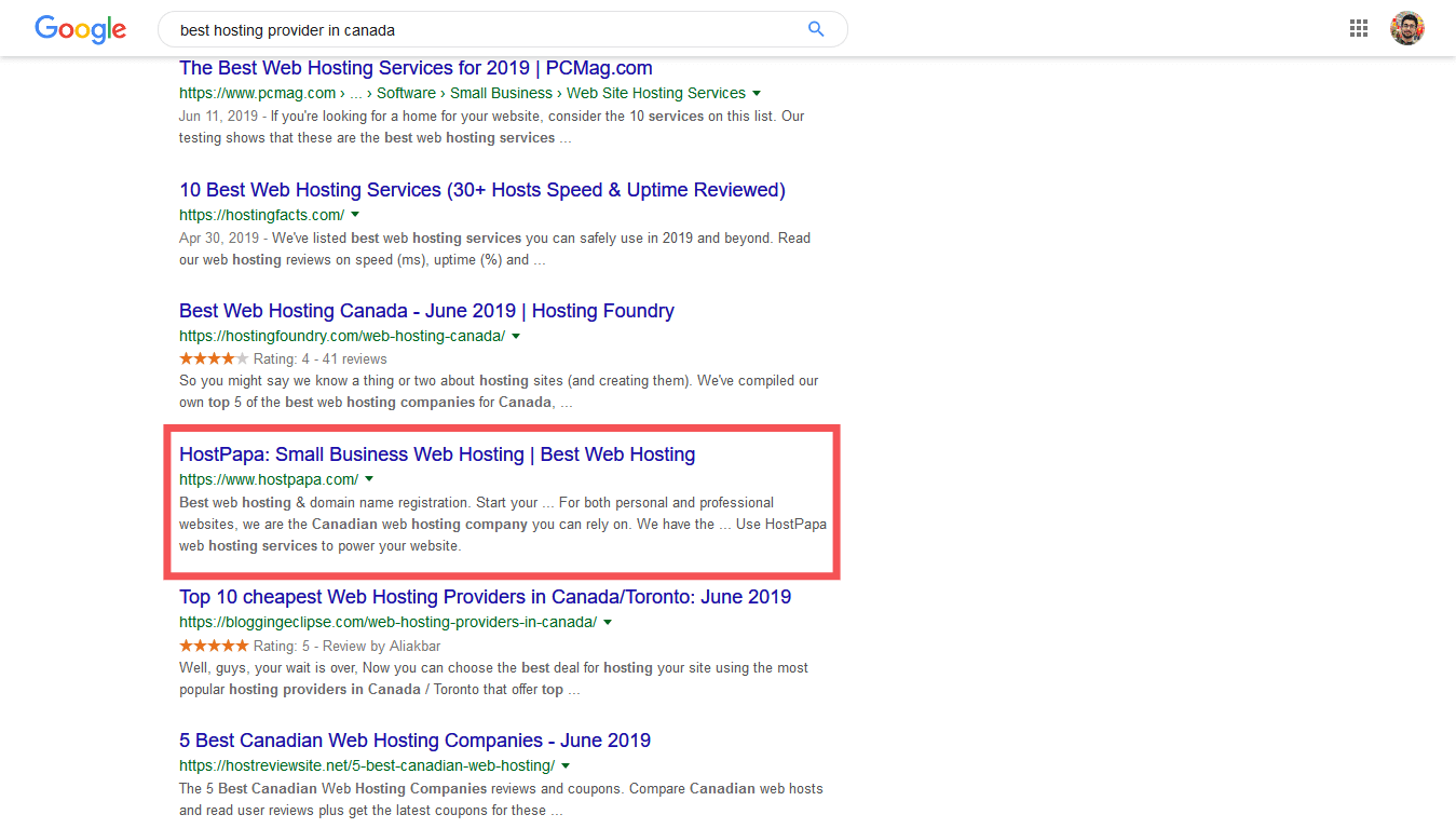 This is how your site will look on google search