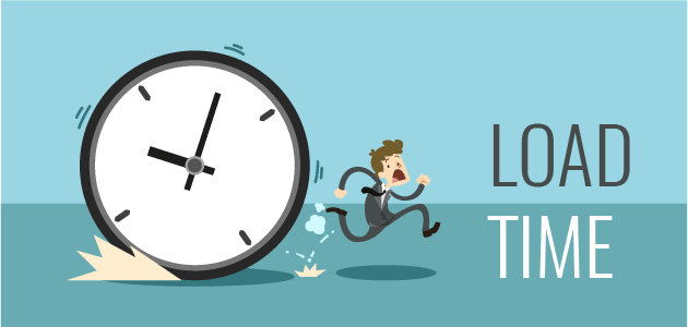 Before you choose a website, make sure you will get a good loading time